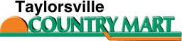 A theme logo of Taylorsville Country Mart