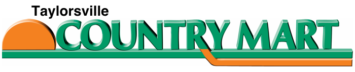 A logo of Taylorsville Country Mart