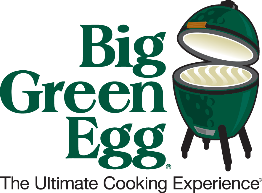 Big Green Egg logo. The Ultimate Cooking Experience®