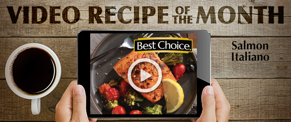 Best Choice Video of the Month: Salmon Italiano